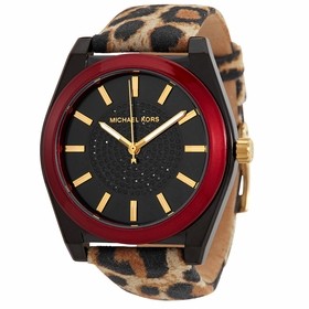 Michael Kors MK2855 Channing Leopard Ladies Quartz Watch