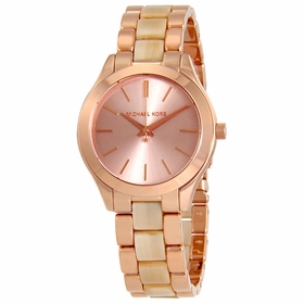 Michael Kors MK3701 Mini Slim Runway Ladies Quartz Watch
