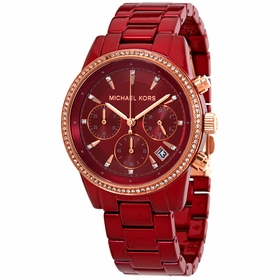 Michael Kors MK6665 Ritz Ladies Chronograph Quartz Watch