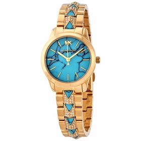 Michael Kors MK6673 Petite Runway Mercer Ladies Quartz Watch