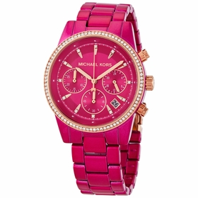 Michael Kors MK6718 Ritz Pave Ladies Chronograph Quartz Watch