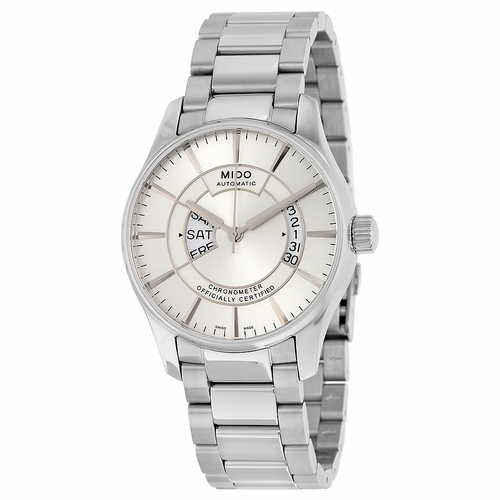 Mido Belluna Automatic Silver Dial Stainless Steel Men's Watch