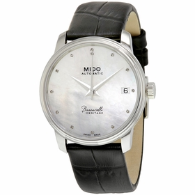 Mido M027.207.16.106.00 Baroncelli Heritage Ladies Automatic Watch