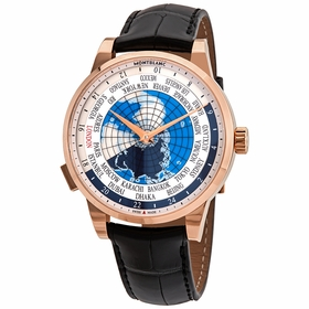 MontBlanc 112307 Heritage Spirit Orbis Terrarum Mens Automatic Watch