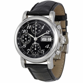 MontBlanc 8451 Star Mens Chronograph Automatic Watch