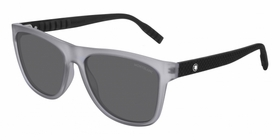 Montblanc MB0062S003 56  Mens  Sunglasses