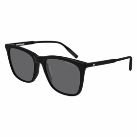 Montblanc MB0080SK001 56  Mens  Sunglasses