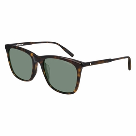 Montblanc MB0080SK002 56  Mens  Sunglasses