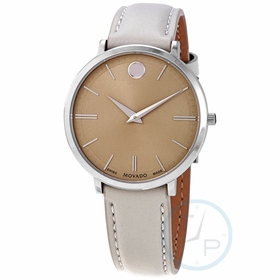 Movado 0607372 Ultra Slim Ladies Quartz Watch