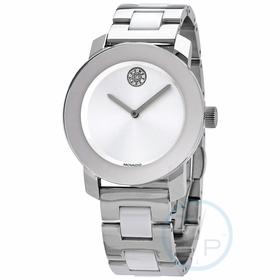 Movado 3600638 Bold Ceramic Ladies Quartz Watch