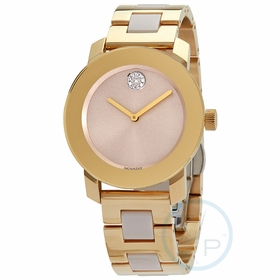 Movado 3600640 Bold Ceramic Ladies Quartz Watch