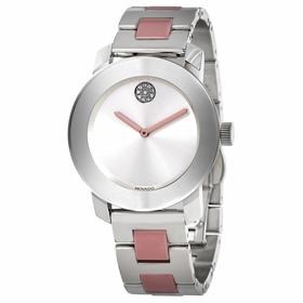 Movado 3600702 Bold Ceramic Ladies Quartz Watch
