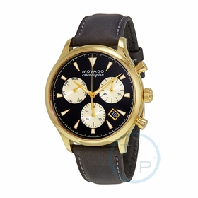 Movado 3650006 Heritage Mens Chronograph Quartz Watch