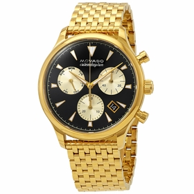 Movado 3650015 Heritage Mens Chronograph Quartz Watch