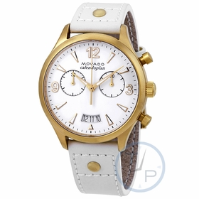 Movado 3650026 Heritage Ladies Chronograph Quartz Watch