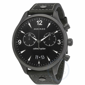 Movado 3650029 Heritage Mens Chronograph Quartz Watch