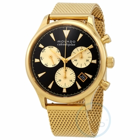 Movado 3650098 Heritage Mens Chronograph Quartz Watch