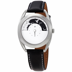 Mr. Jones 46-P6 Sun and Moon Unisex Quartz Watch