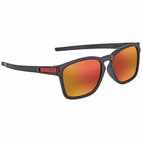 Oakley OO9358 935811 55 Latch Squared Latch� Square (Asia Fit) Mens  Sunglasses