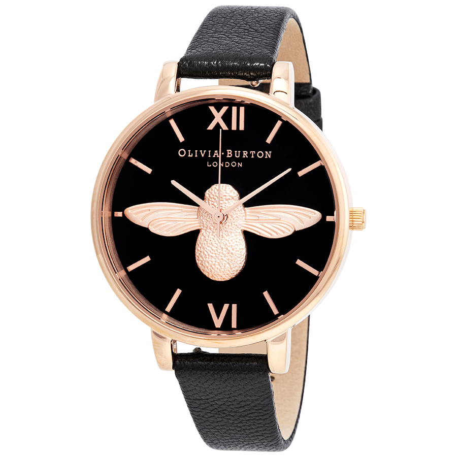 Quartz Watch Olivia Ob16am98 3d Bee Burton Ladies 54jLA3Rqc