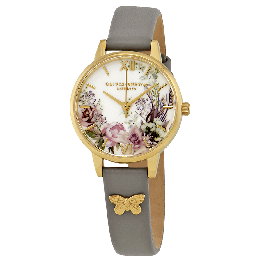 abc7561517b5 Olivia Burton OB16EG109 Enchanted Garden Ladies Quartz Watch