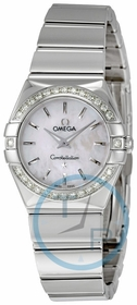 Omega 123.15.24.60.05.002 Constellation Ladies Quartz Watch