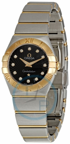 Omega 123.20.24.60.63.001 Constellation Ladies Quartz Watch