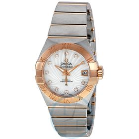 Omega 123.20.27.20.55.001 Constellation Brushed Chronometer Ladies Automatic Watch