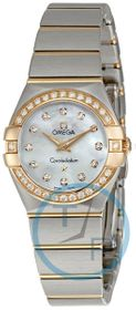 Omega 123.25.24.60.55.001 Constellation Ladies Quartz Watch