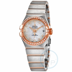 Omega 123.25.27.20.55.005 Constellation Co-Axial Ladies Automatic Watch