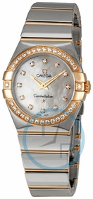 Omega 123.25.27.60.55.005 Constellation Ladies Quartz Watch