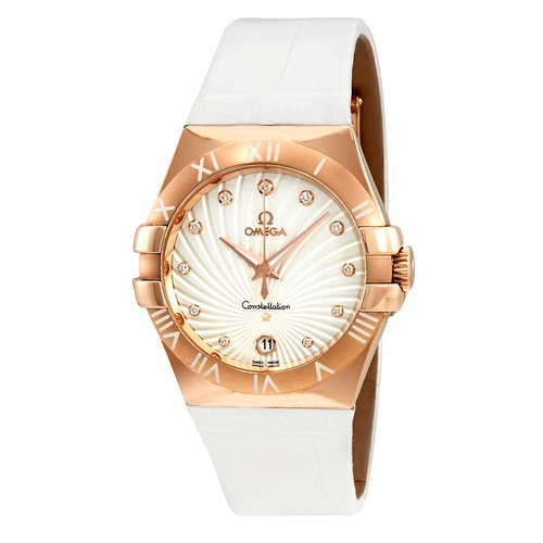 Omega 123.53.35.60.52.001 Constellation Ladies Quartz Watch