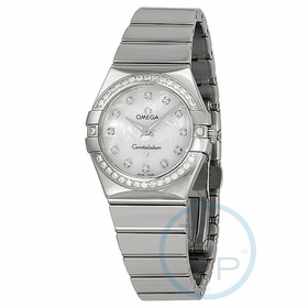Omega 12315276055003 Constellation Ladies Quartz Watch