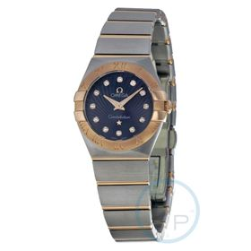 Omega 12320246053001 Constellation Ladies Quartz Watch