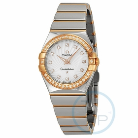 Omega 123.25.27.60.55.006 Constellation Ladies Quartz Watch