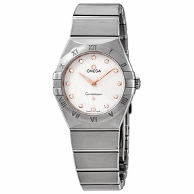 Omega 131.10.28.60.52.001 Constellation Manhattan Ladies Quartz Watch