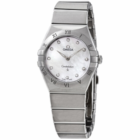 Omega 131.10.28.60.55.001 Constellation Manhattan Ladies Quartz Watch