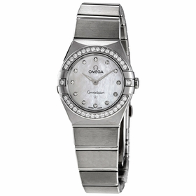 Omega 131.15.25.60.55.001 Constellation Manhattan Ladies Quartz Watch