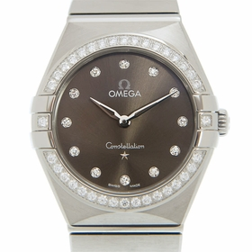 Omega 131.15.28.60.56.001 Constellation Manhattan Ladies Quartz Watch