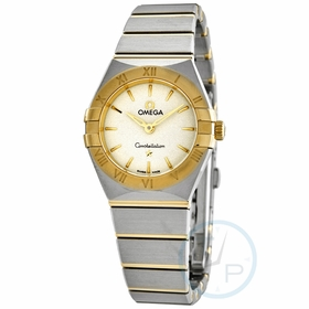 Omega 131.20.25.60.02.002 Constellation Ladies Quartz Watch