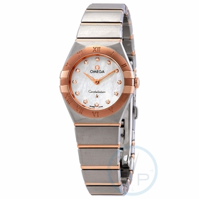 Omega 131.20.25.60.55.001 Constellation Manhattan Ladies Quartz Watch