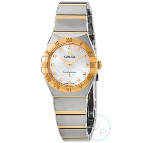 Omega 131.20.25.60.55.002 Constellation Manhattan Ladies Quartz Watch