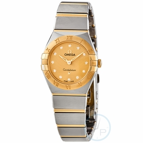 Omega 131.20.25.60.58.001 Constellation Manhattan Ladies Quartz Watch