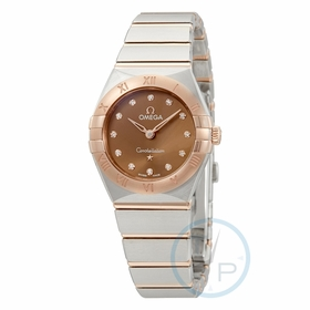 Omega 131.20.25.60.63.001 Constellation Ladies Quartz Watch