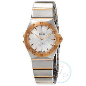 Omega 131.20.28.60.05.002 Constellation Manhattan Ladies Quartz Watch