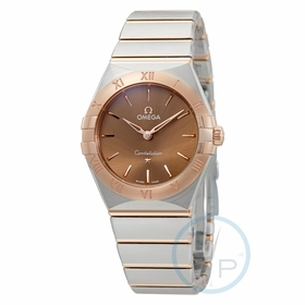 Omega 131.20.28.60.13.001 Constellation Manhattan Ladies Quartz Watch