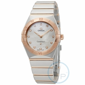 Omega 131.20.28.60.55.001 Constellation Manhattan Ladies Quartz Watch