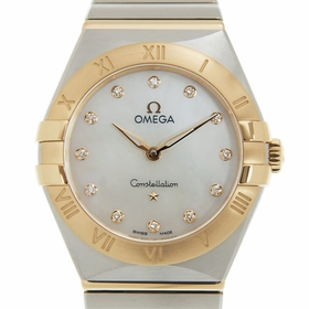 Omega 131.20.28.60.55.002 Constellation Manhattan Ladies Quartz Watch