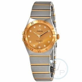 Omega 131.20.28.60.58.001 Constellation Manhattan Ladies Quartz Watch