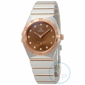 Omega 131.20.28.60.63.001 Constellation Manhattan Ladies Quartz Watch